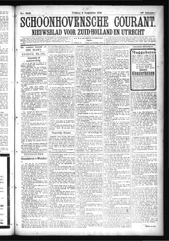 Schoonhovensche Courant 1926-08-06