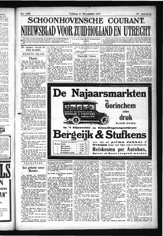 Schoonhovensche Courant 1927-11-11