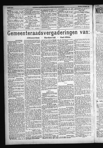 Schoonhovensche Courant 1931-10-03