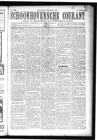 Schoonhovensche Courant 1922-11-15
