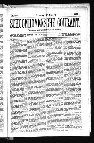 Schoonhovensche Courant 1881-03-27