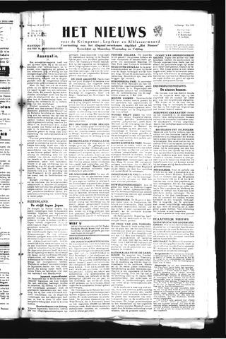 Schoonhovensche Courant 1945-07-13