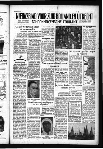 Schoonhovensche Courant 1955-08-19