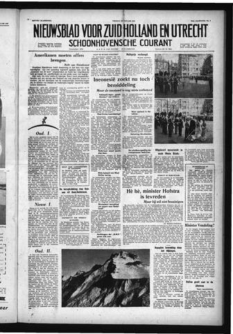 Schoonhovensche Courant 1958-01-10