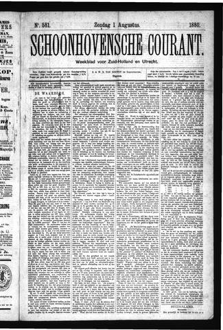 Schoonhovensche Courant 1880-08-01