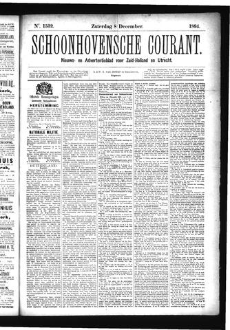 Schoonhovensche Courant 1894-12-08