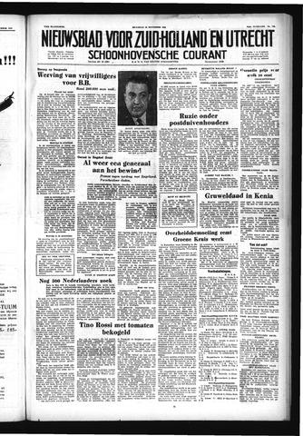 Schoonhovensche Courant 1952-11-24