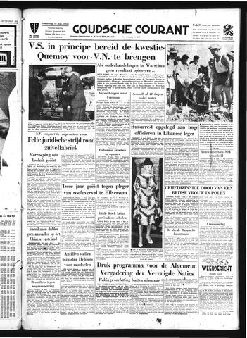 Goudsche Courant 1958-09-18