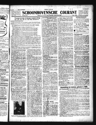 Schoonhovensche Courant 1943-06-04