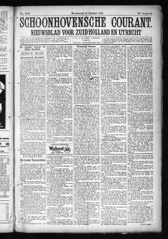 Schoonhovensche Courant 1926-01-27