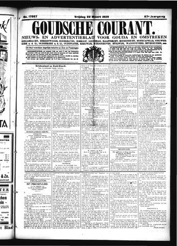 Goudsche Courant 1929-03-22