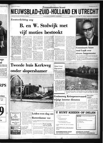 Schoonhovensche Courant 1974-01-09