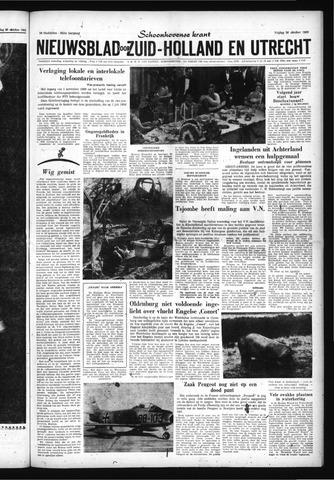 Schoonhovensche Courant 1960-10-28