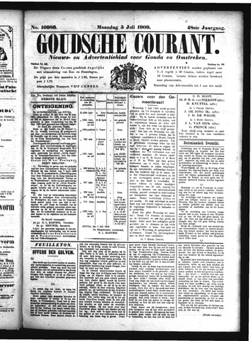 Goudsche Courant 1909-07-05