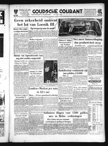 Goudsche Courant 1959-10-07
