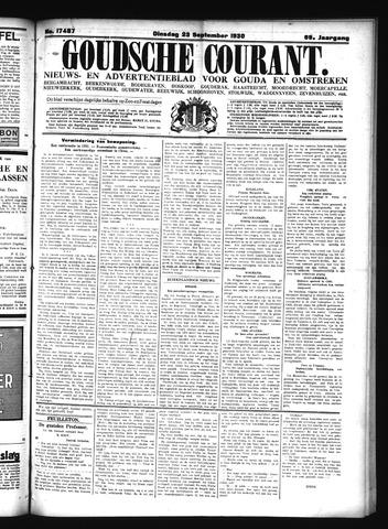 Goudsche Courant 1930-09-23