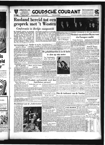 Goudsche Courant 1953-11-27