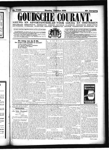 Goudsche Courant 1930-10-07