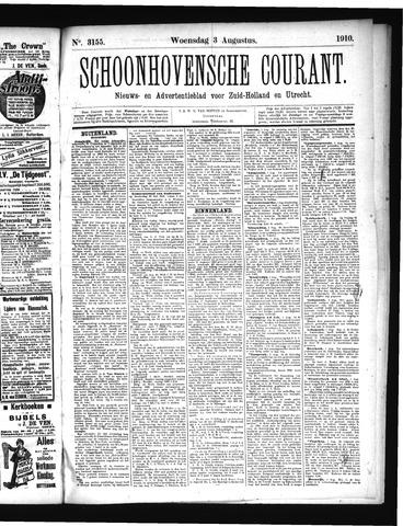 Schoonhovensche Courant 1910-08-03