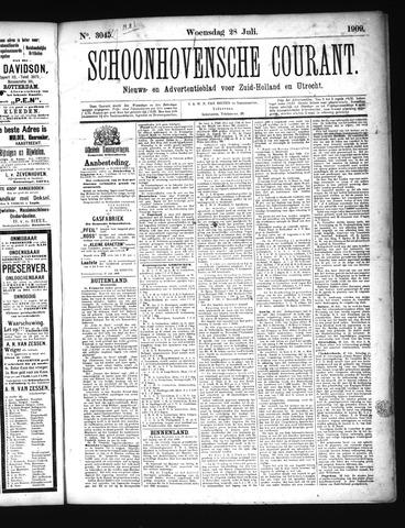 Schoonhovensche Courant 1909-07-28