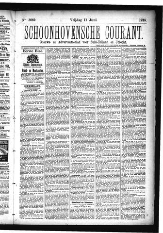 Schoonhovensche Courant 1915-06-11