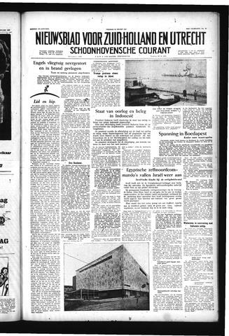 Schoonhovensche Courant 1957-03-15
