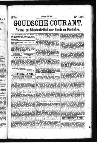 Goudsche Courant 1874-05-10