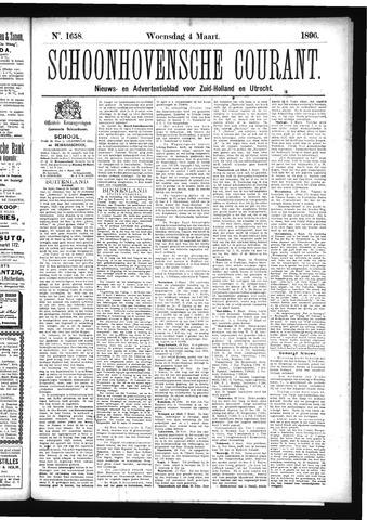 Schoonhovensche Courant 1896-03-04