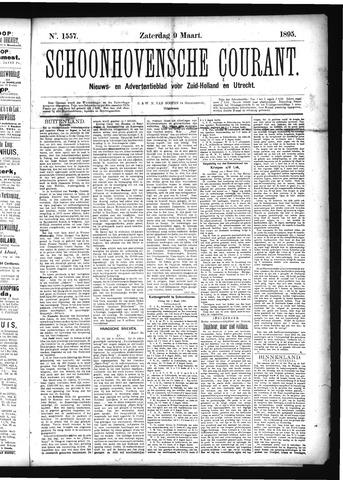 Schoonhovensche Courant 1895-03-09