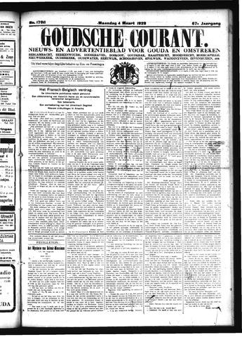 Goudsche Courant 1929-03-04