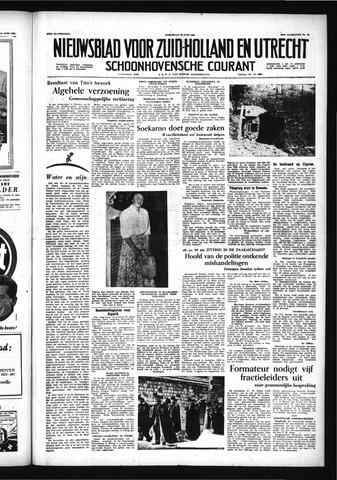 Schoonhovensche Courant 1956-06-20