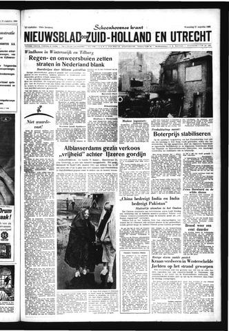 Schoonhovensche Courant 1963-08-21