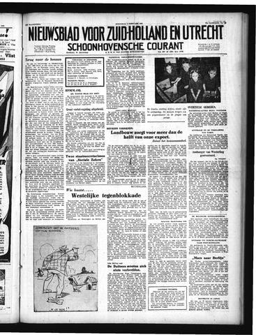 Schoonhovensche Courant 1950-02-08