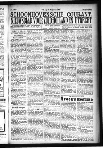 Schoonhovensche Courant 1927-08-26