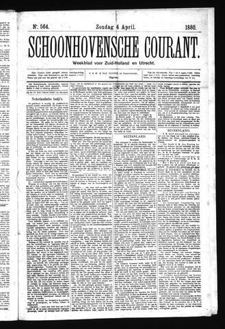 Schoonhovensche Courant 1880-04-04