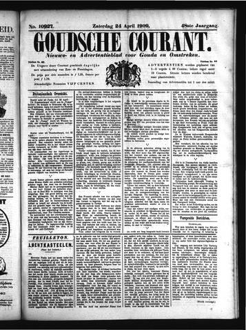 Goudsche Courant 1909-04-24