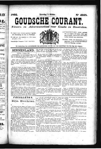 Goudsche Courant 1892-10-08