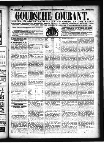 Goudsche Courant 1925-08-22