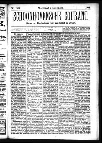 Schoonhovensche Courant 1908-12-02