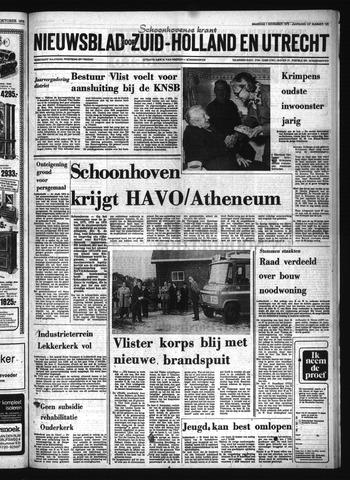 Schoonhovensche Courant 1976-11-01