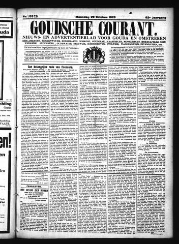Goudsche Courant 1923-10-29