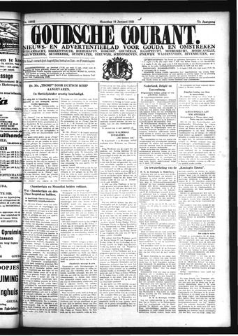 Goudsche Courant 1939-01-16