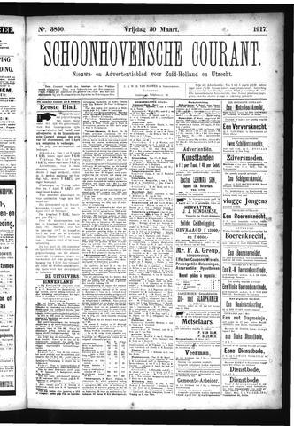 Schoonhovensche Courant 1917-03-30