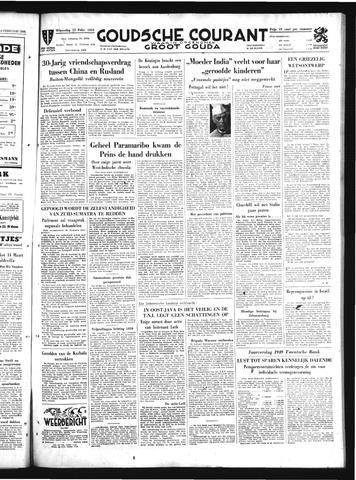 Goudsche Courant 1950-02-15