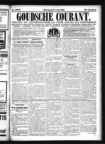 Goudsche Courant 1923-06-27