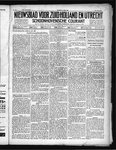Schoonhovensche Courant 1938-04-04