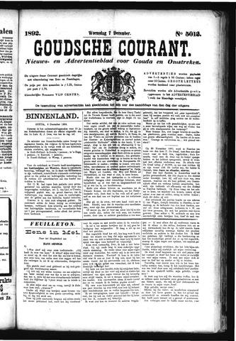 Goudsche Courant 1892-12-07