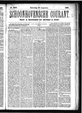 Schoonhovensche Courant 1899-08-26