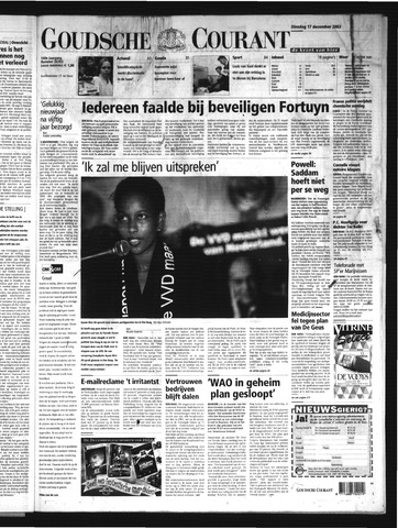 Goudsche Courant 2002-12-17