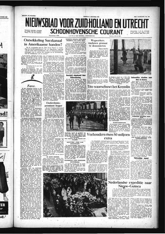 Schoonhovensche Courant 1956-10-05